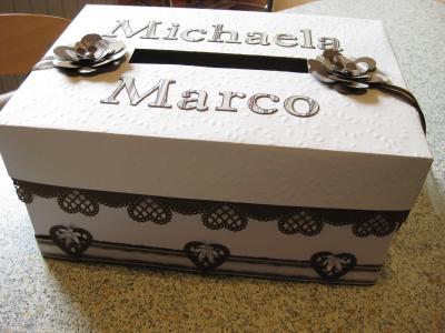 biba zur hochzeit eine kartenbox. Black Bedroom Furniture Sets. Home Design Ideas